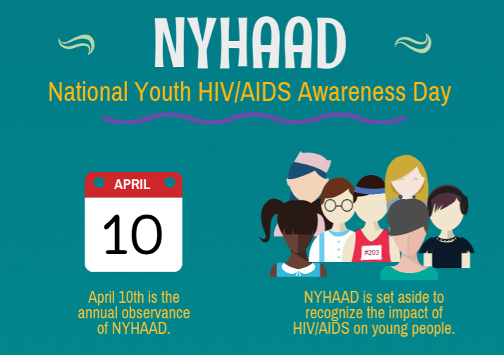 Facts on HIV and Youth for National Youth HIV/AIDS Awareness Day (NYHAAD)