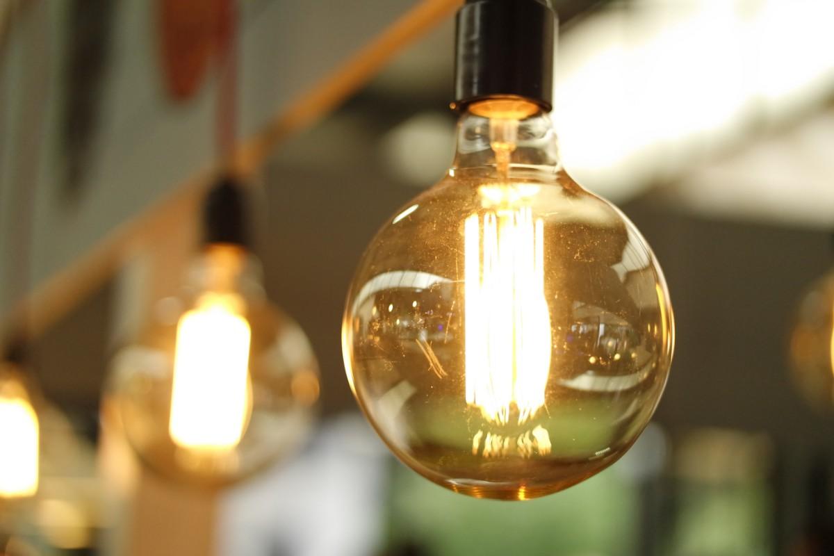 lightbulb lit up