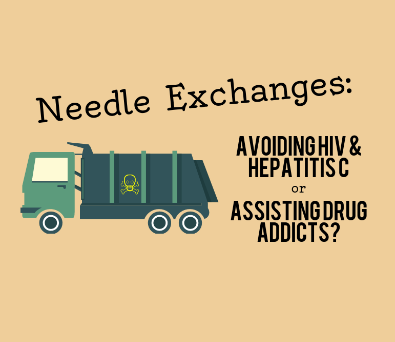 Needle Exchanges: Avoiding Hep C or Assisting Addicts?