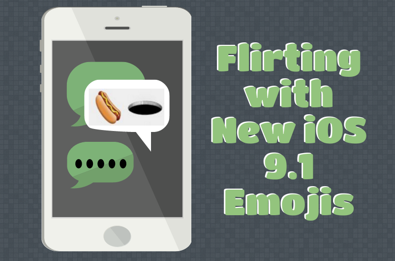 How To Flirt With New Emojis