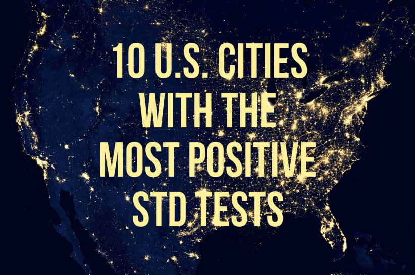 cities with highest STD rates