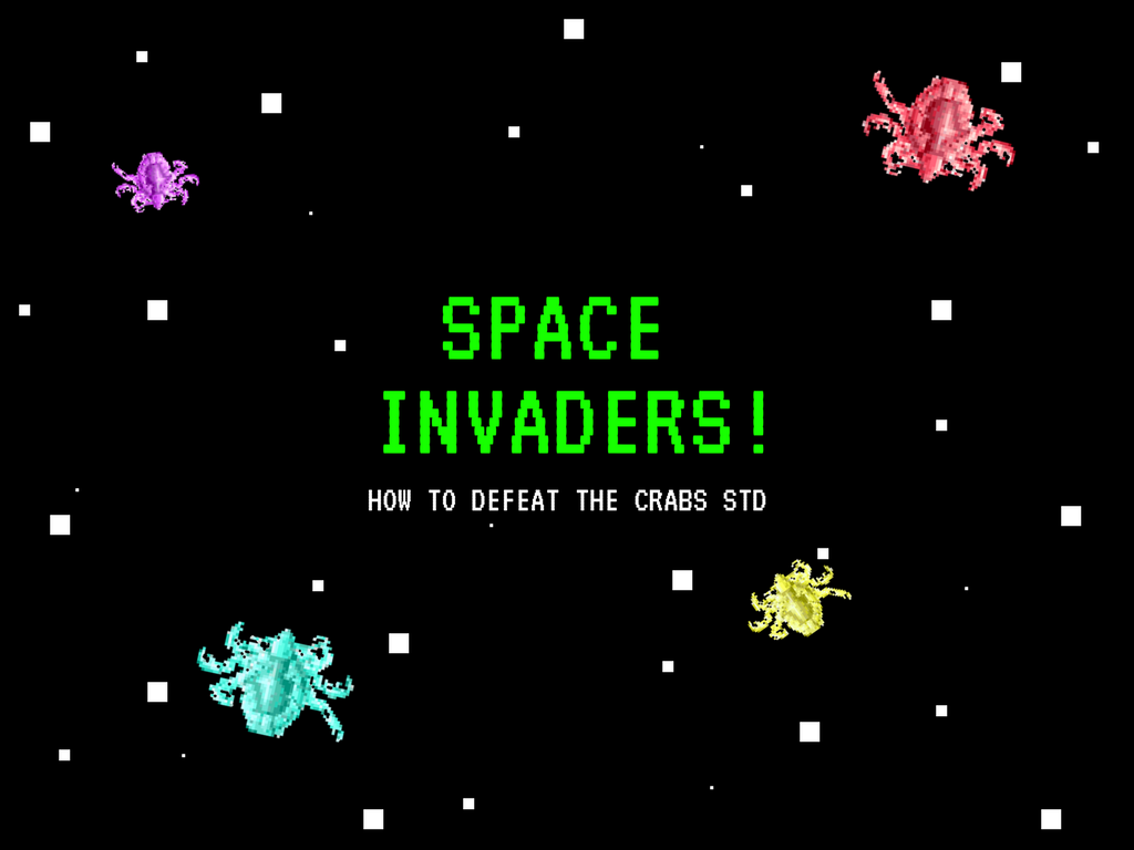 Space Invaders! How to Defeat the Crabs STD