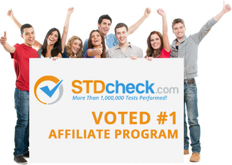 STDcheck.com Voted #1 Affilate Program